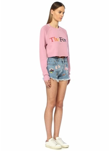 Forte Couture Sweatshirt Pembe